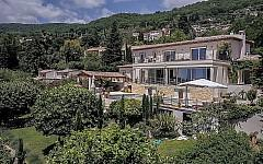 Modern Villa Grasse with Panoramic Views