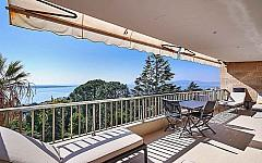 Apartment for sale Cannes Californie with sea views