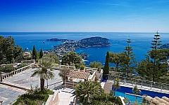 Villa Villefranche sur Mer, beautiful seaview of the French Riviera