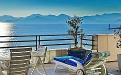 Duplex penthouse for rent with panoramic sea view