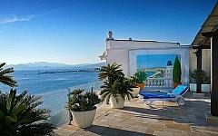 Penthouse for rent Cannes Croisette with sea views