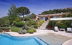 Seaview villa for sale Cannes West