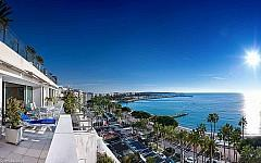 High end penthouse for rent Cannes Croisette