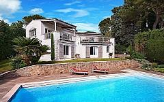 Swimming pool of prestige property Cannes Cannet