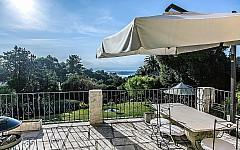 Villa rental Super Cannes with terrace