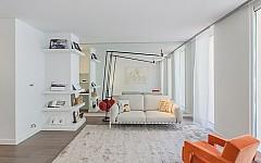 Interior of luxury apartment Cannes rue d'Antibes