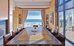 Dining room leading to the terrace, Cannes