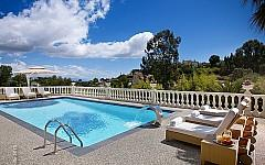 Estate rental Super Cannes, pool