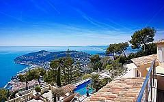 Villa for rent Villefranche sur Mer with seaview