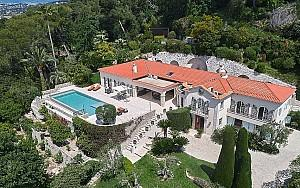 Luxury property to rent in Cannes Californie with panoramic sea view