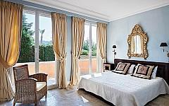 Villa rental Cannes Californie with 3 guest bedrooms