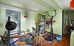 Sea view villa for sale Cannes with fitness room