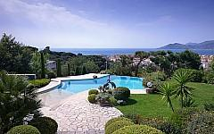 Seaview villa for sale Cannes Croix des gardes