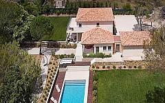 Villa for sale Mougins, aerial view