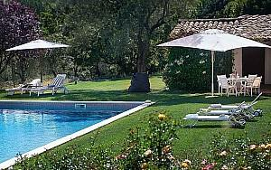 Property rental Valbonne with pool